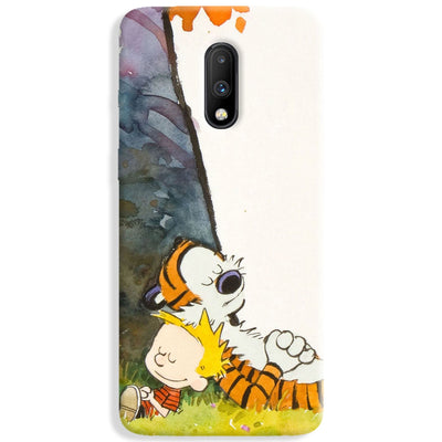 Calvin And Hobbes OnePlus 7 Case