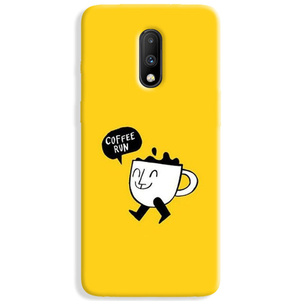 Coffee Run OnePlus 7 Case