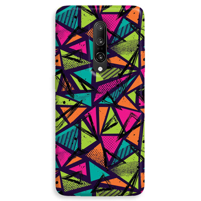 Geometric Color Pattern OnePlus 7 Pro Case