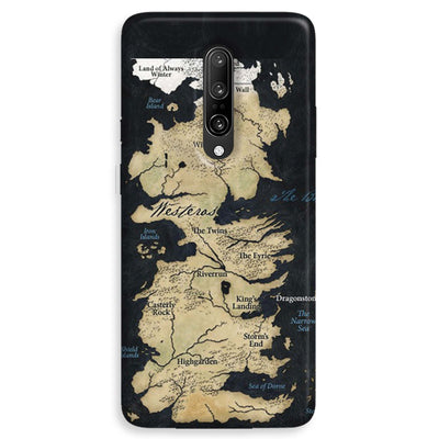 Game of Thrones Map OnePlus 7 Pro Case