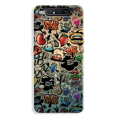 What's on your mind? Samsung Galaxy A80 Case