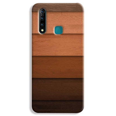 Striped Wooden Pattern Vivo Z1 Pro Case