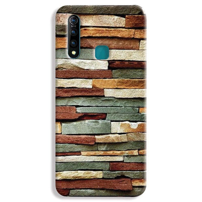 Brick Pattern Vivo Z1 Pro Case