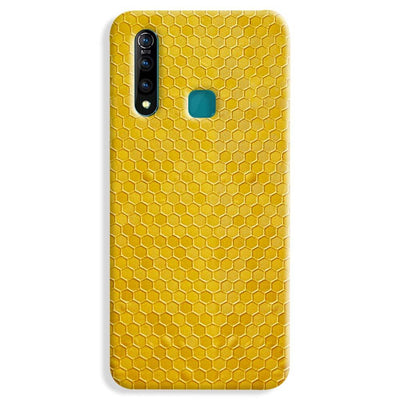 Hexagen Dot Yellow Vivo Z1 Pro Case
