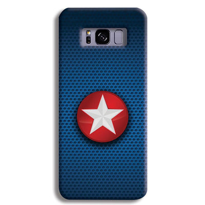 Captain America Side Star Samsung S8 Plus Case