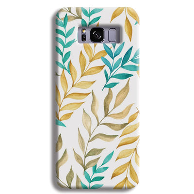 Tropical leaves  Samsung S8 Plus Case