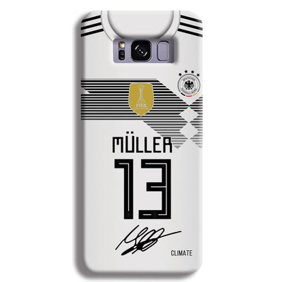 Muller Jersey Samsung S8 Plus Case