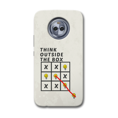 Think Outside the Box Moto X4 Case