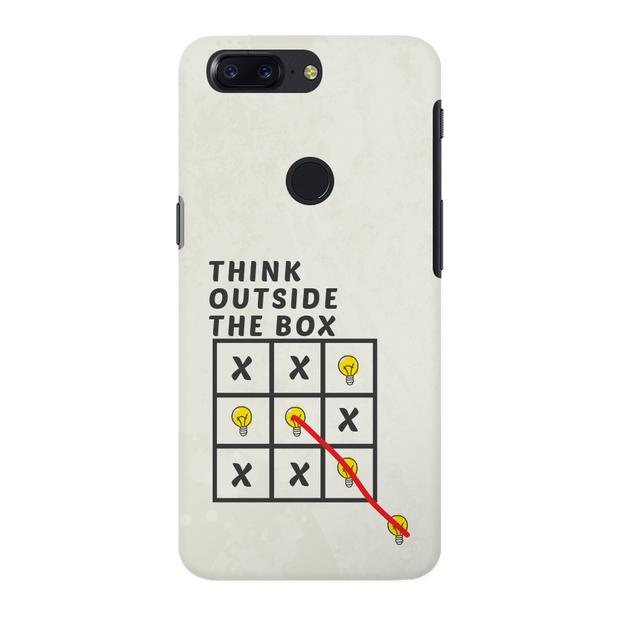 Think Outside the Box OnePlus 5T Case