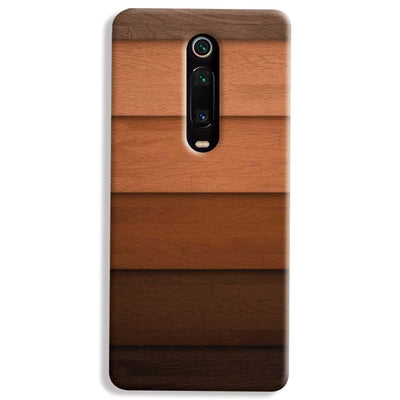 Striped Wooden Pattern Xiaomi Redmi K20 Pro Case