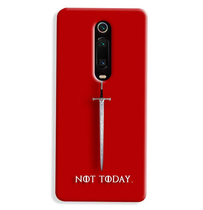 Not Today Xiaomi Redmi K20 Pro Case