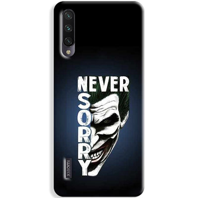 Never Sorry Xiaomi Mi A3 Case