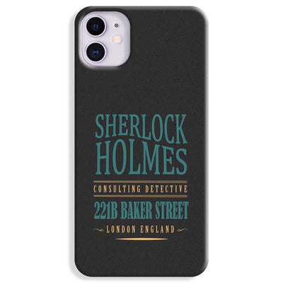 Sherlock Holmes Quote iPhone 11 Case