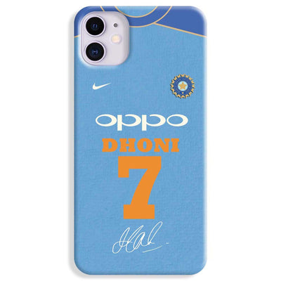 Dhoni Jersey iPhone 11 Case