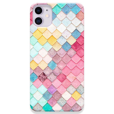 Colorful Roof Tiles Pattern iPhone 11 Case