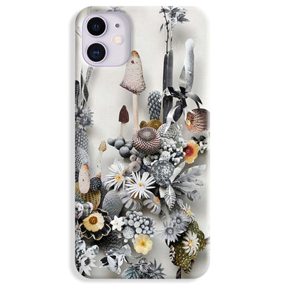 Flowers Constructions iPhone 11 Case