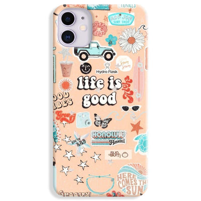 Life Is Good iPhone 11 Case