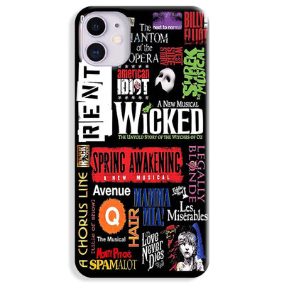 Music Collage iPhone 11 Case