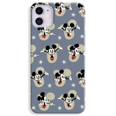 Mickey Mouse Pattern iPhone 11 Case