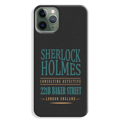 Sherlock Holmes Quote iPhone 11 Pro Max Case