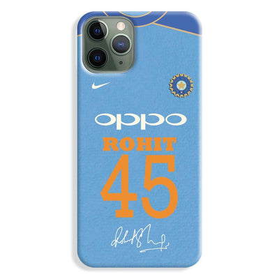 Rohit Sharma Jersey iPhone 11 Pro Max Case
