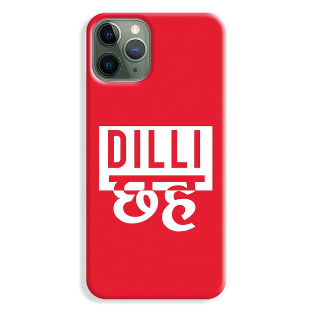 Dilli 6 iPhone 11 Pro Max Case
