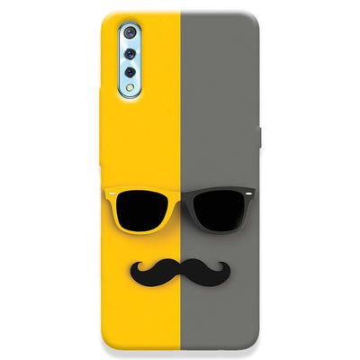 Mr. Mustache Vivo S1 Case