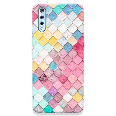 Colorful Roof Tiles Pattern Vivo S1 Case
