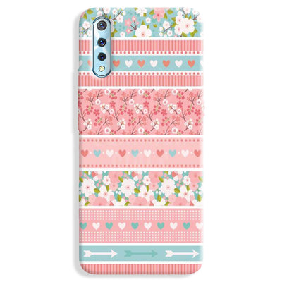 Pink Washi Tape Vivo S1 Case