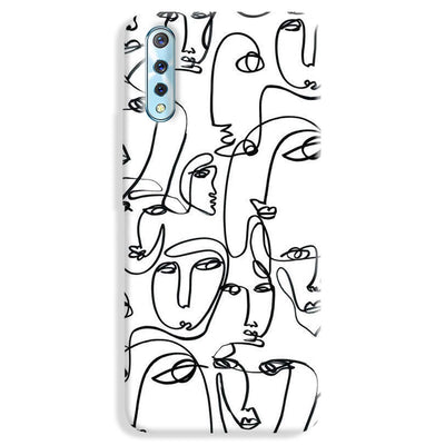 Face Line Vivo S1 Case