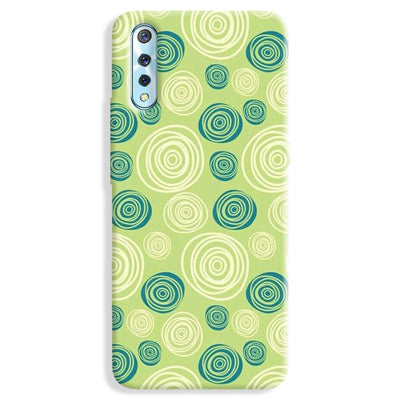 Lime Green Pattern Vivo S1 Case