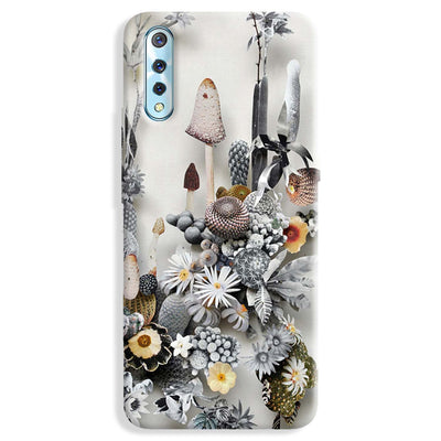Flowers Constructions Vivo S1 Case