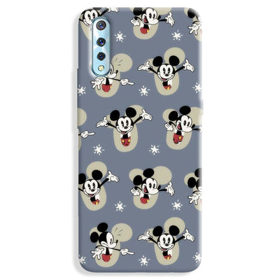 Mickey Mouse Pattern Vivo S1 Case