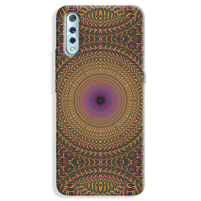 Rug Pattern Vivo S1 Case