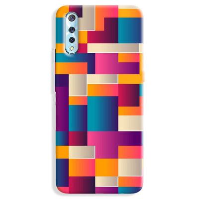 Colorful Abstract Vivo S1 Case