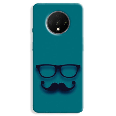 Cute mustache Blue OnePlus 7T Case