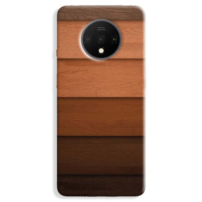 Striped Wooden Pattern OnePlus 7T Case