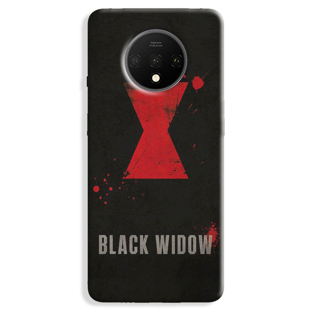 Black Widow Logo OnePlus 7T Case
