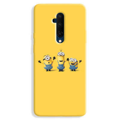 Three Minions OnePlus 7T Case