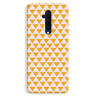 Yellow Triangle OnePlus 7T Case