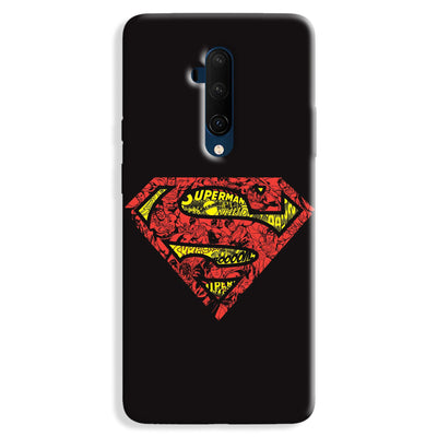 Urban Superman Logo OnePlus 7T Pro Case