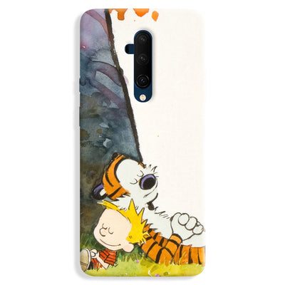 Calvin And Hobbes OnePlus 7T Pro Case