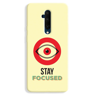 Stay Focussed OnePlus 7T Case