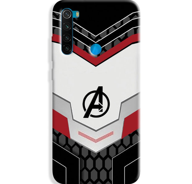 Avenger Jersey Redmi Note 8 Case