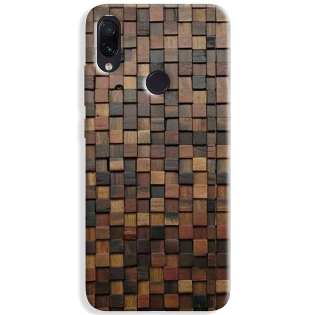 Wooden Blocks Redmi Note 8 Case