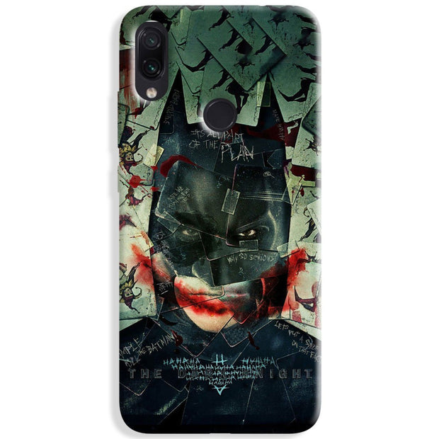 Bat Joker Redmi Note 8 Case