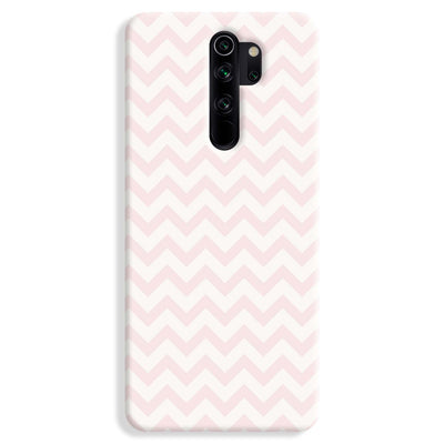 Lite Pink Chevron Pattern Redmi Note 8 Pro Case