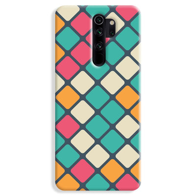 Colorful Tiles Pattern Redmi Note 8 Pro Case