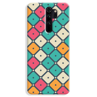 Colorful Tiles with Dot Redmi Note 8 Pro Case
