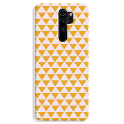 Yellow Triangle Redmi Note 8 Pro Case